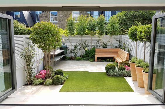 1. Small Back Garden