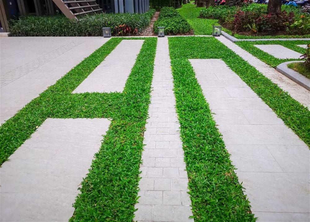 11. Back Garden Paving