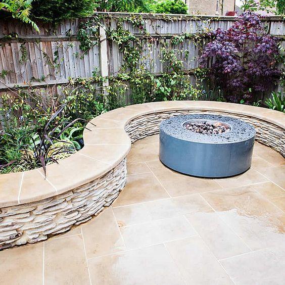 11. Garden Wall Seating
