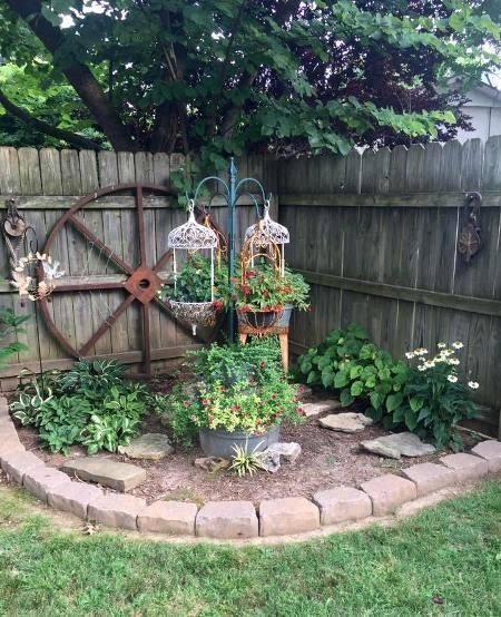 17. Garden Decorating on a Budget