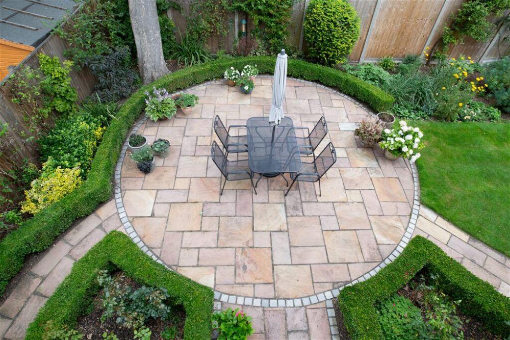 2. Back Garden Patio
