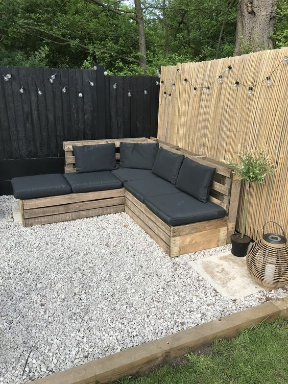 2. Garden Seating on a Budget