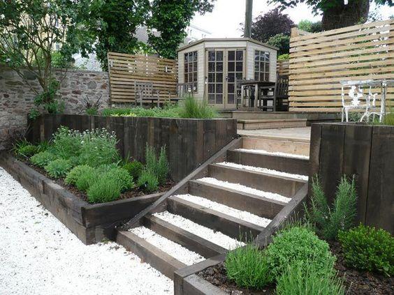 21. Steep Garden Landscaping