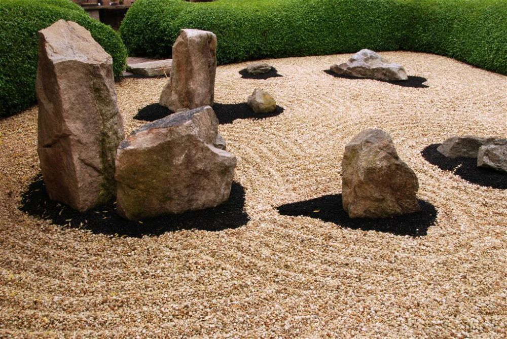 26. Japanese Rock Garden Landscaping