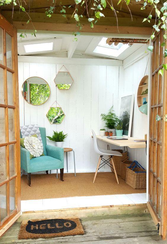 4. Garden Room Decorating