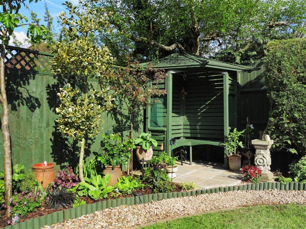 5. Small Garden Seating Area