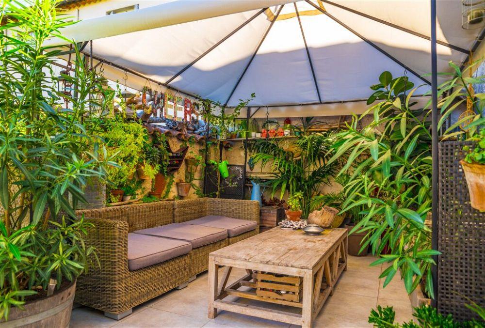 6. Terraced House Back Garden