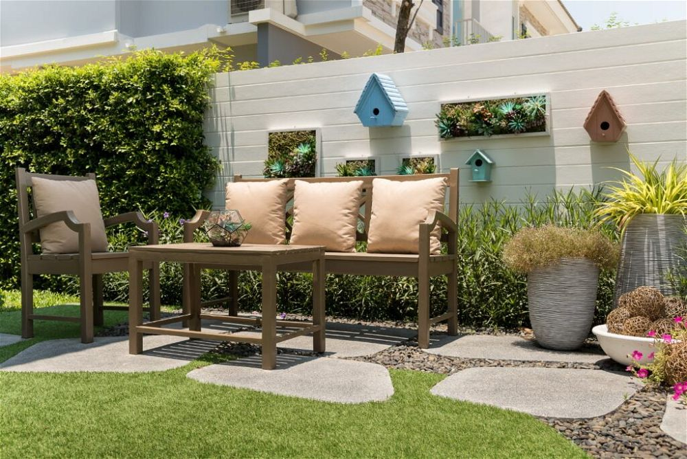 8. Very Small Garden on a Budget