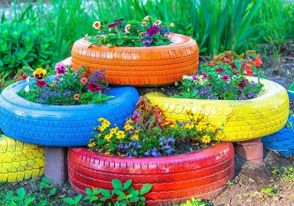 old-tires-flower-planter