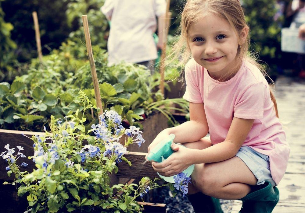girl-in-school-garden