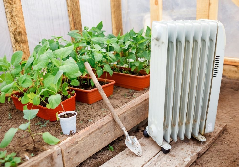 heater-in-greenhouse