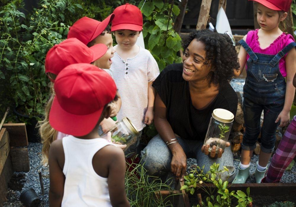 kids-school-growing-project