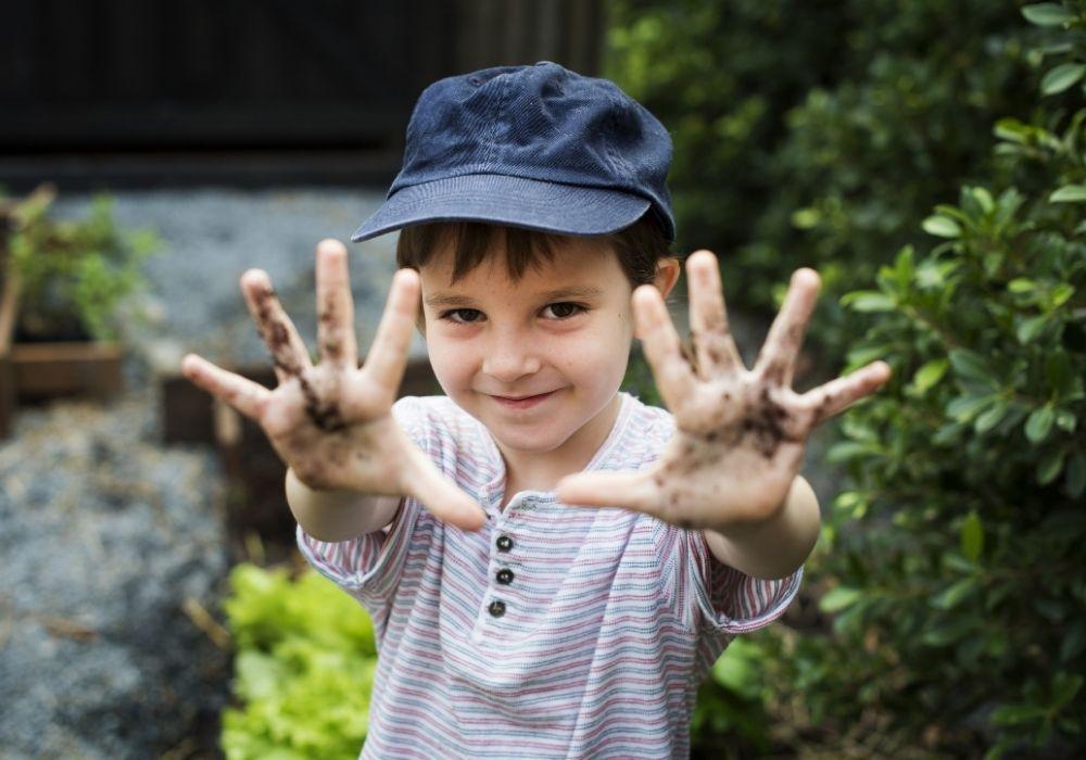 smiling-kid-in-school-garden
