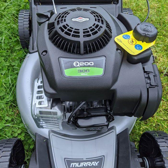 Murray-EQ200-Petrol-Lawn-Mower-Review-power