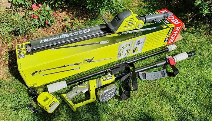 Ryobi-RPT184520-ONE+-Cordless-Pole-Hedge-Trimmer-Review-design