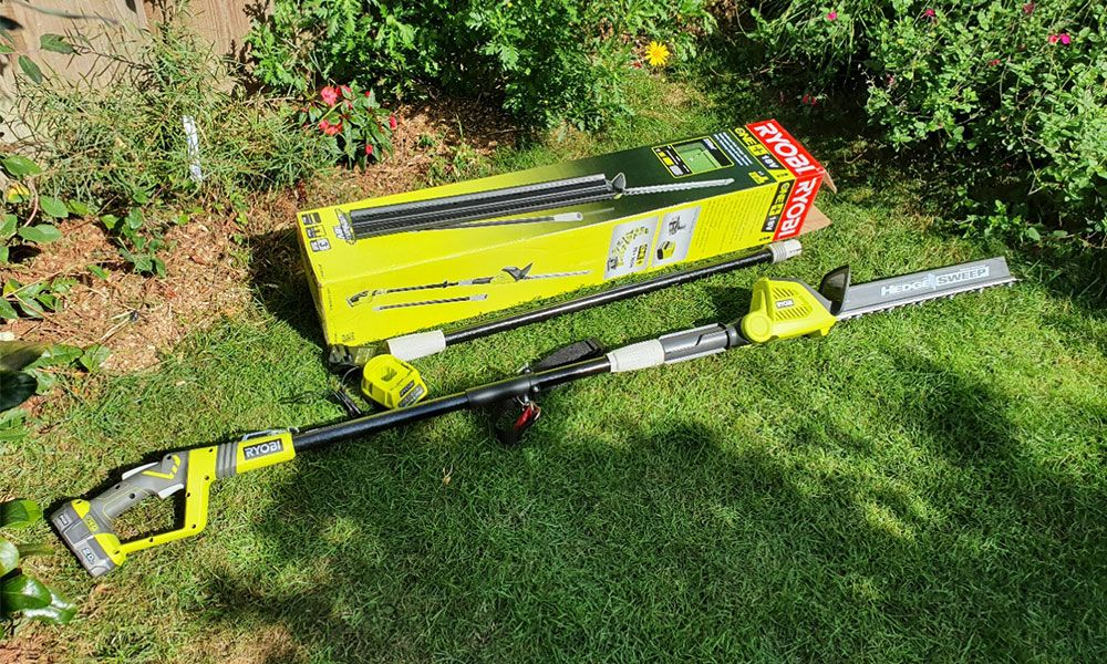 Ryobi-RPT184520-ONE+-Cordless-Pole-Hedge-Trimmer-Review