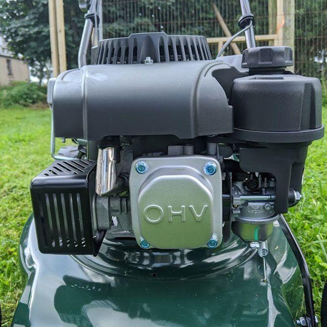 Webb-Classic-WER410SP-Self-Propelled-Petrol-Mower-Review-power