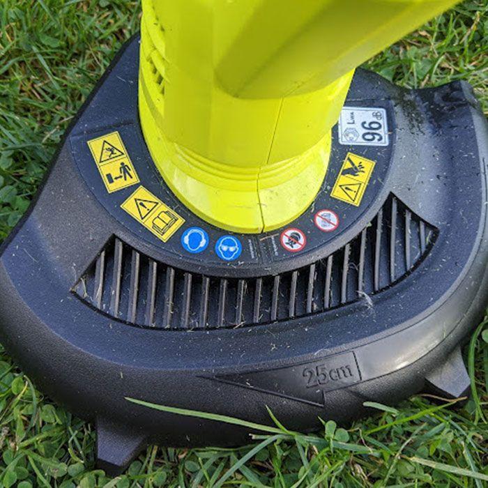 Ryobi-One+18V-Cordless-Grass-Strimmer-Review-safety